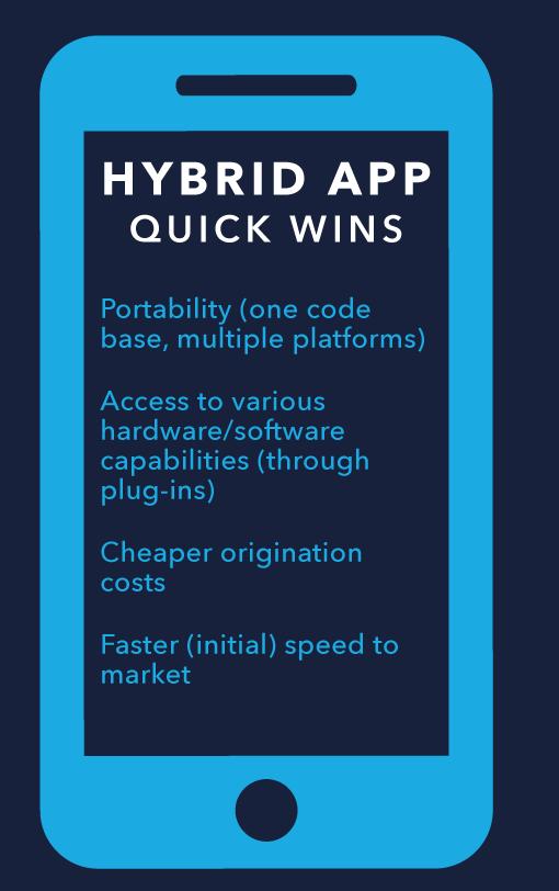 Native vs hybrid app