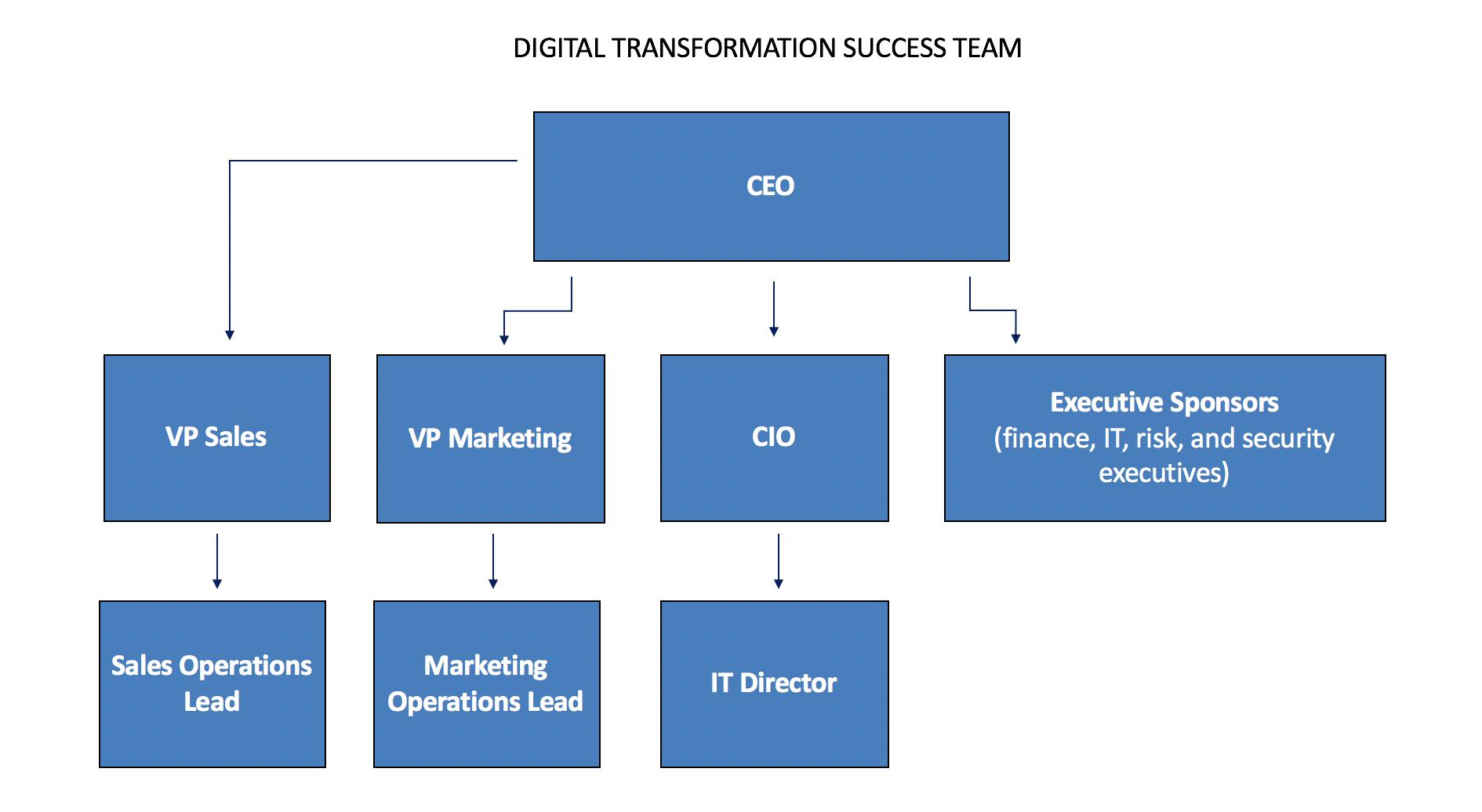 A Digital Transformation Team